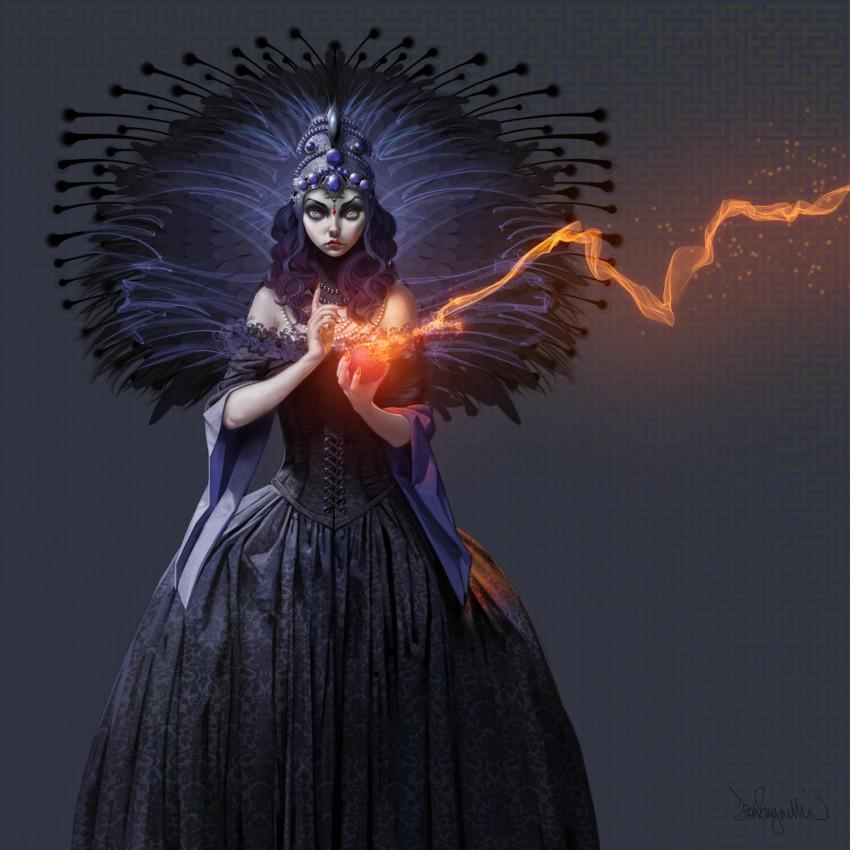 DonSeegmiller_dark-princess_ParticleBrushes