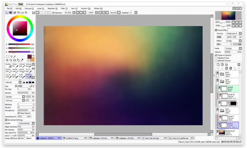 Paint_Tool_SAI_Interface
