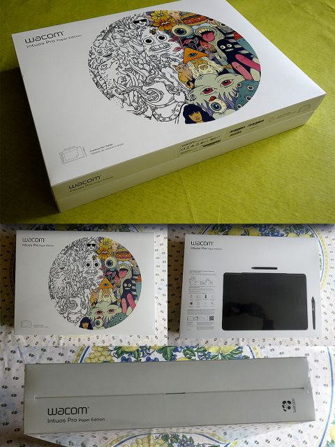 Intuos Pro Large Paper Edition Unboxing