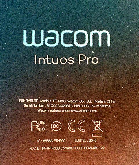 La nouvelle Wacom Intuos Pro 2017 en images
