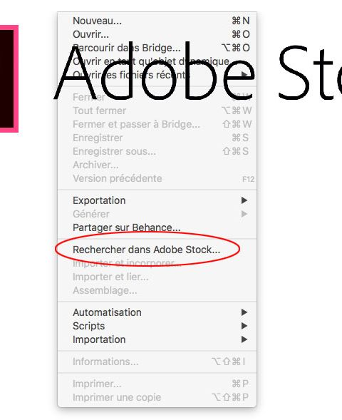 Adobe Photoshop CC et Adobe Stock [21/25]