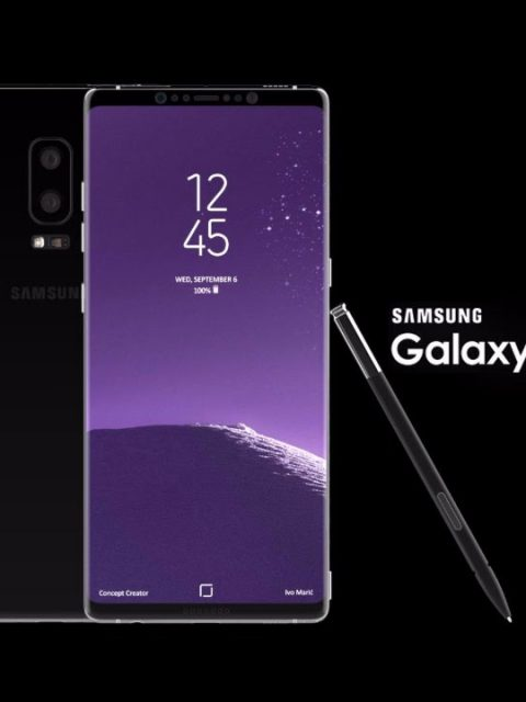 Galaxy Note 8 et son S-Pen