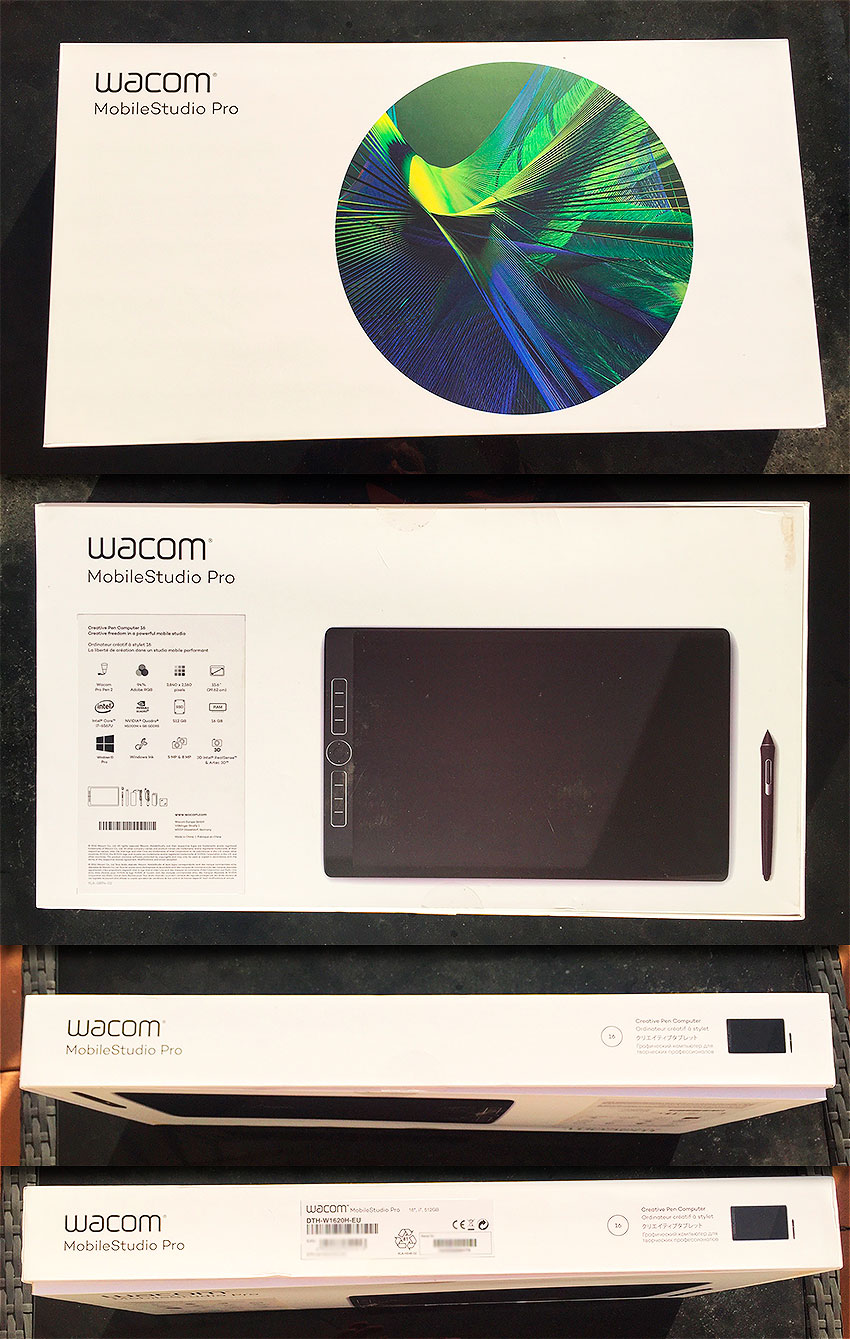 Wacom MobileStudio Pro 16 unboxing