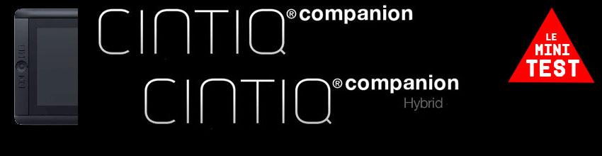 *Cintiq Companion - le mini test*