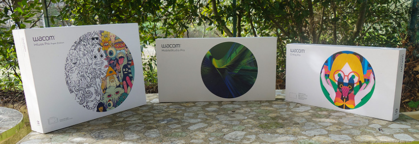 Wacom Packaging : Black is White