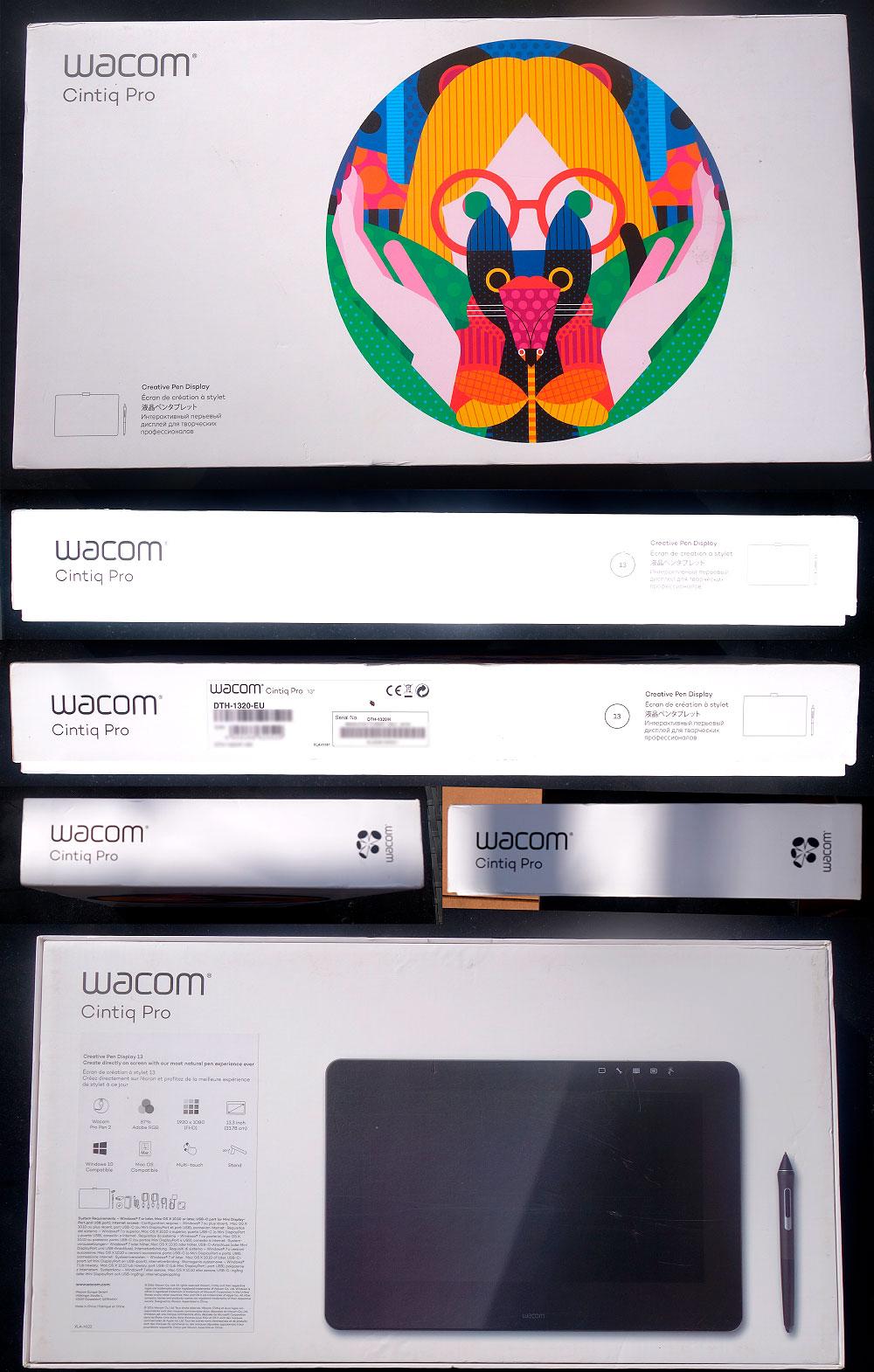 Focus sur le Wacom Cintiq Pro 13