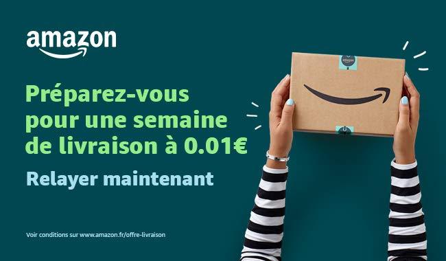 Promotion envoi Amazon