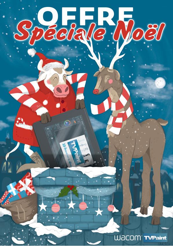 Wacom & TVpaint pour Noël