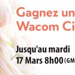 Un Wacom Cintiq Pro 24 à gagner